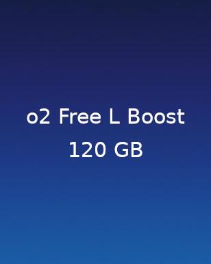 2 für 1 Aktionstarif O2 Free L Boost 120GB