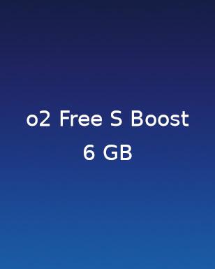 2 für 1 Aktionstarif O2 Free S Boost 6GB