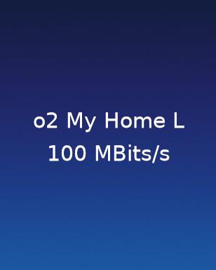 O2 My Home L 100MBit/s (DSL/Kabel/LTE)