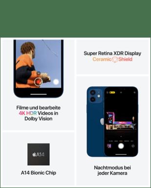 Apple iPhone 12 mit Vertrag O2 Free M mit 20 GB