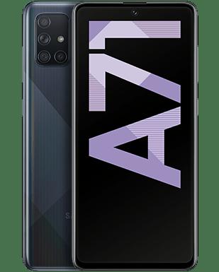 Samsung Galaxy A71 mit Vertrag O2 Free M mit 20 GB