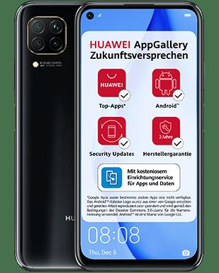 Huawei P40 Lite mit Vertrag O2 Free M mit 20 GB