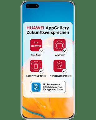 Huawei P40 mit Vertrag O2 Free M mit 20 GB